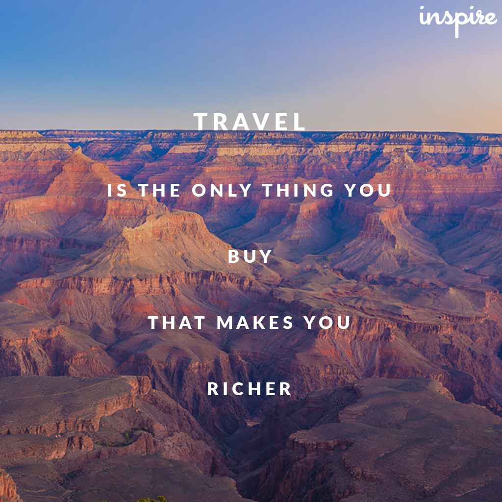 Blog: Our Top 20 Travel Quotes   Inspire